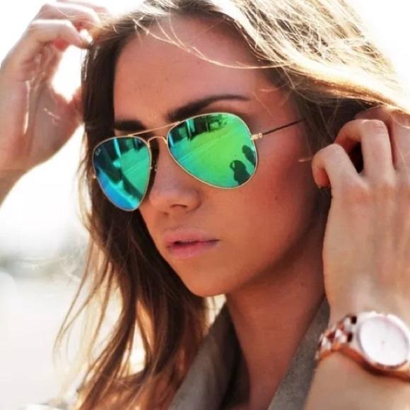 8c0e6b657 Ray ban aviator 112/19 Green mirror sunglasses. M_5a9aba40daa8f65c9ba2a64f